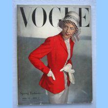 Vogue Magazine - 1947 - April
